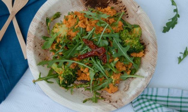 Vegetarische lentestamppot