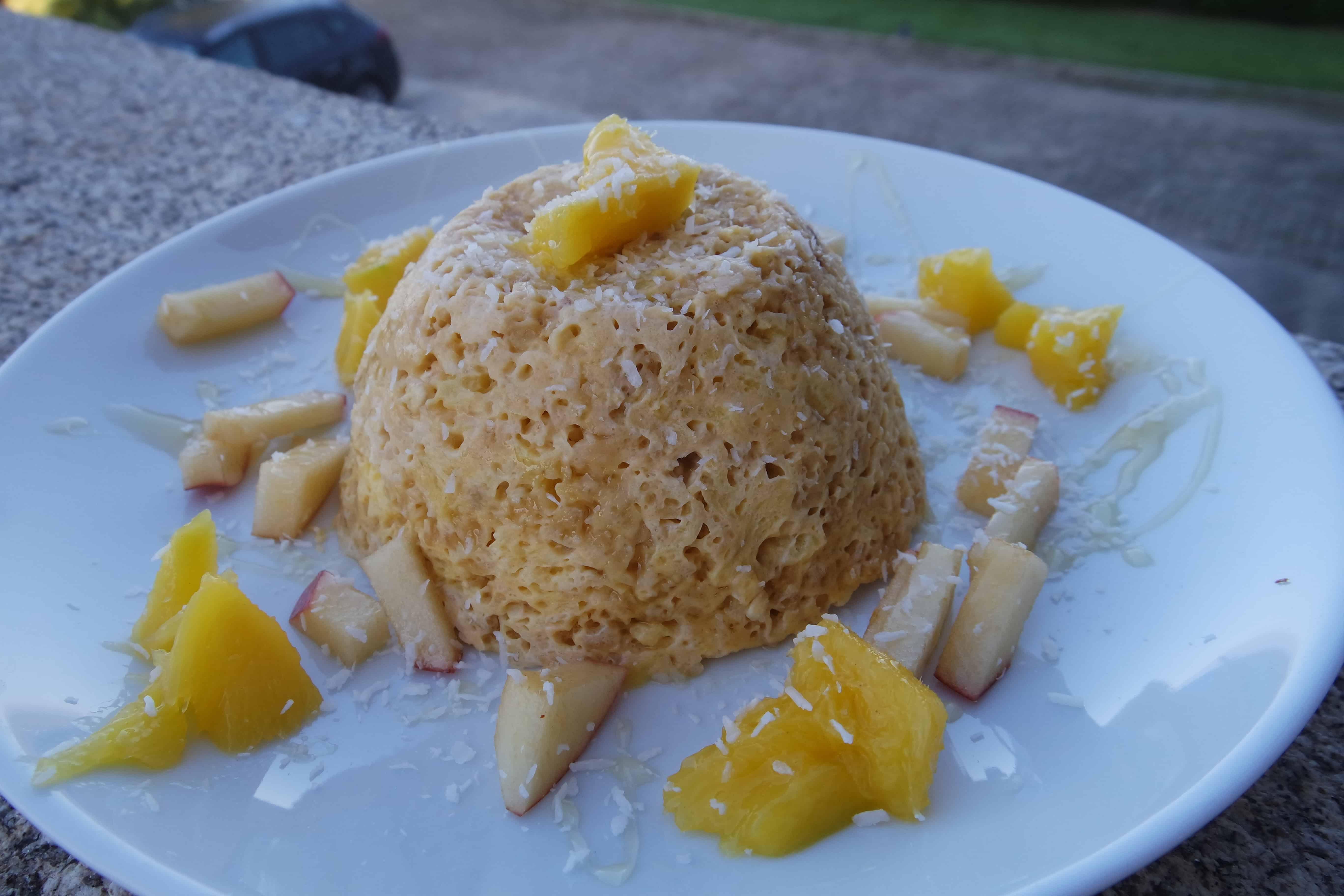 Mango mugcakeCharlies Kitchen