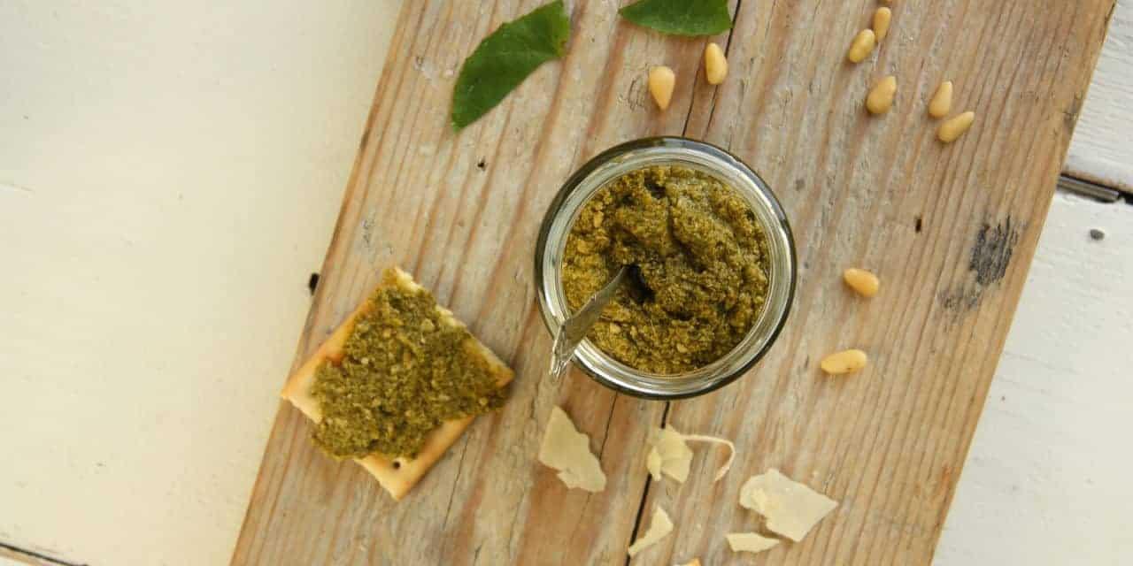 Pesto, super makkelijk en homemade!