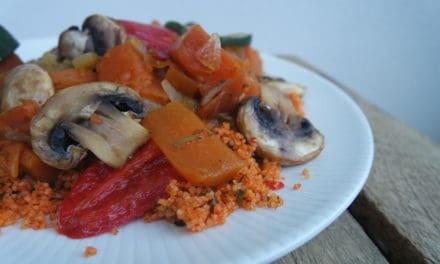 Pompoen couscous