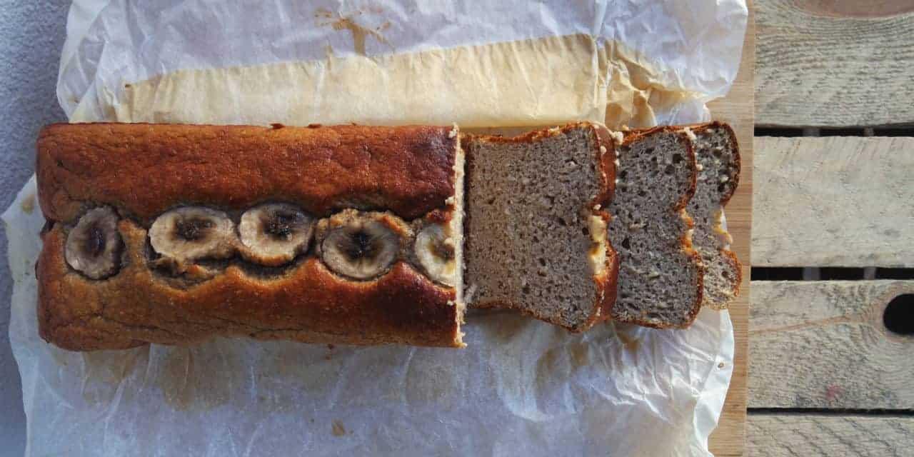 Bananenbrood, gezond en lekker simpel!