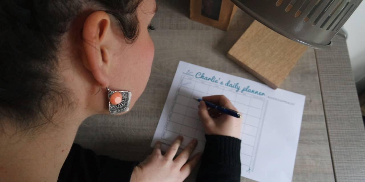 Charlie's Daily Planner voor een nieuwe start!