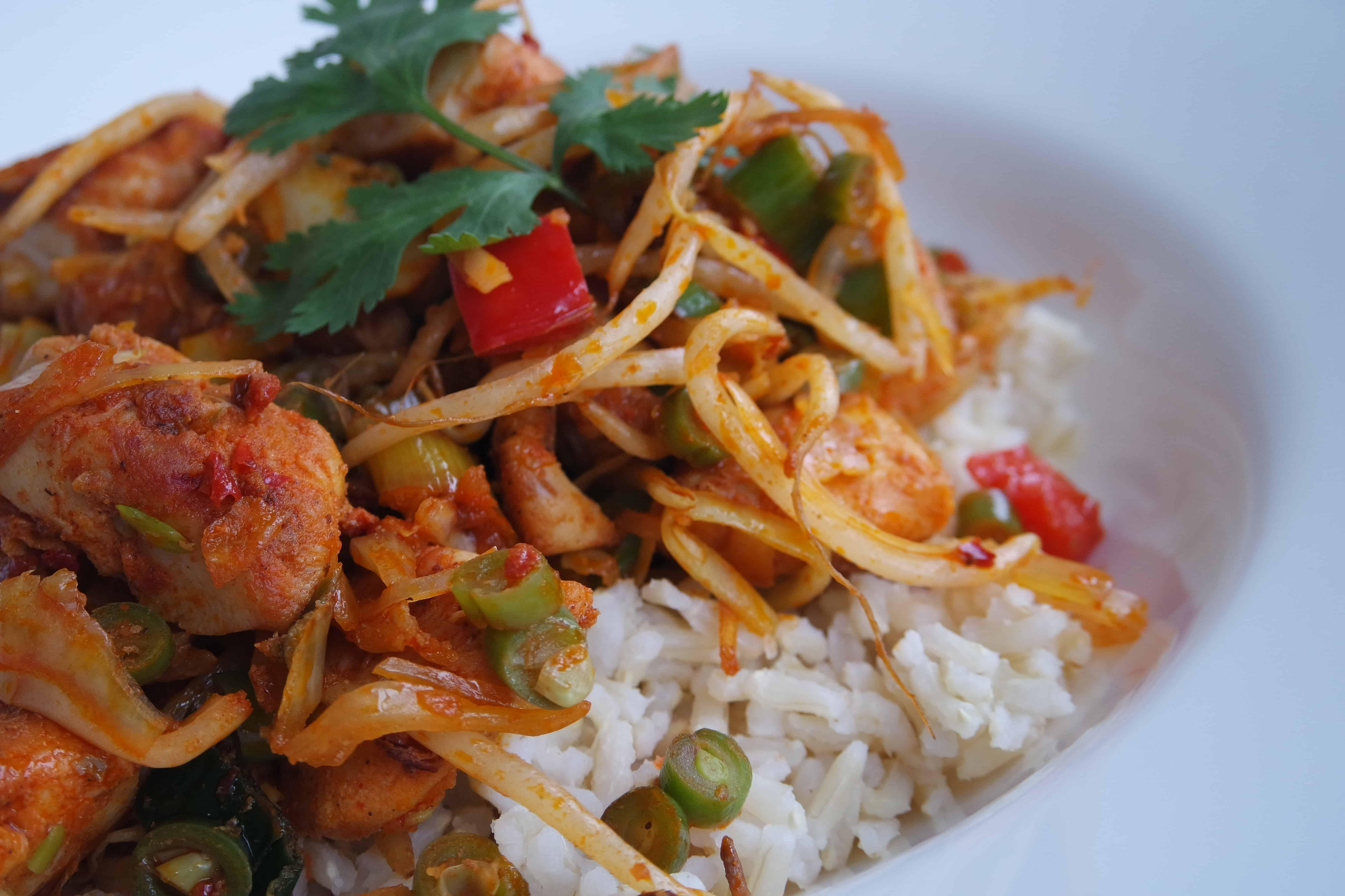 rijst met kip dieet