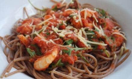 Spaghetti met gamba's