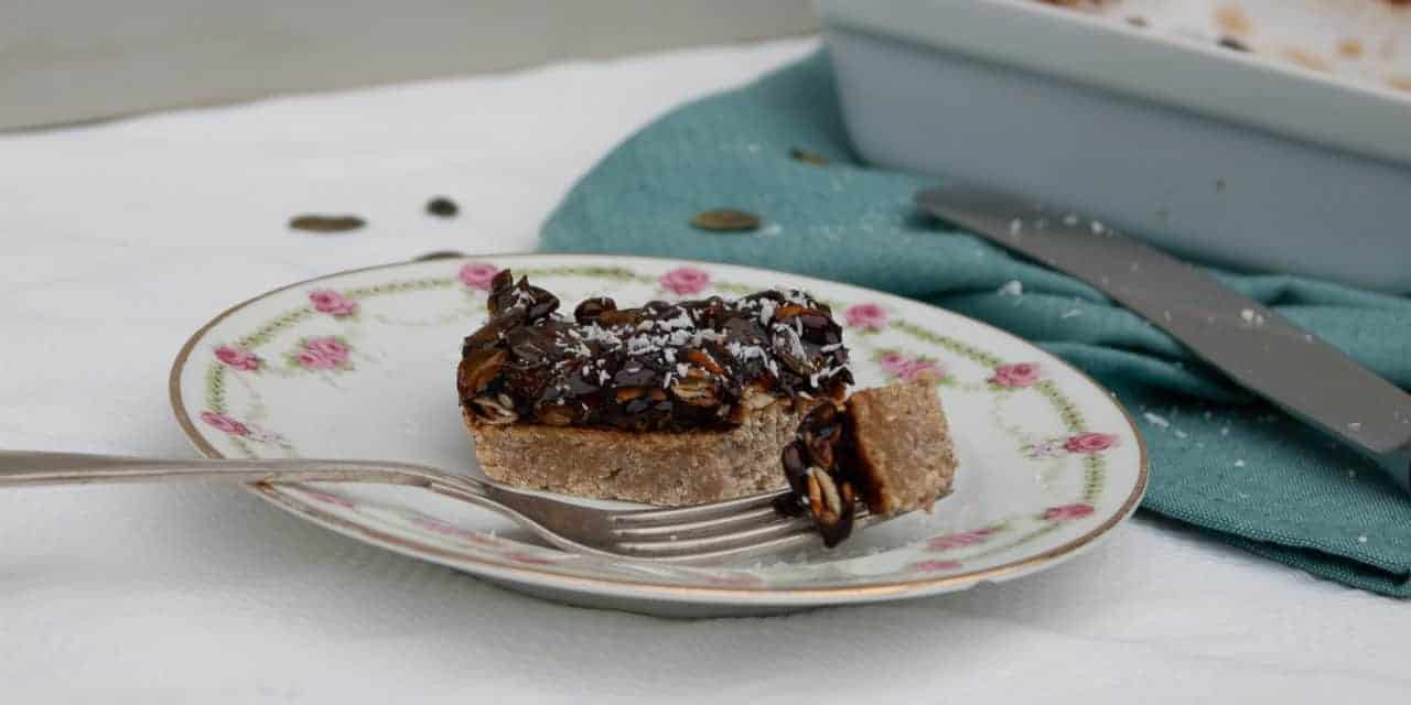 Sticky caramel repen met pure chocolade