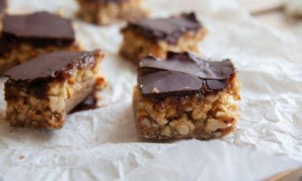 Snickers, maar dan gezonder!