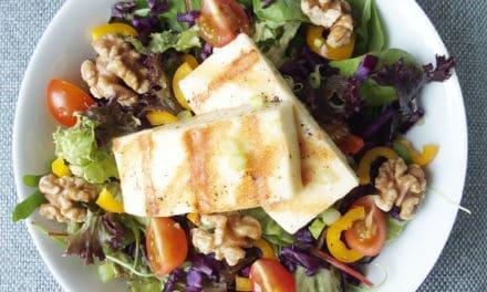 Salade met een pittige bite
