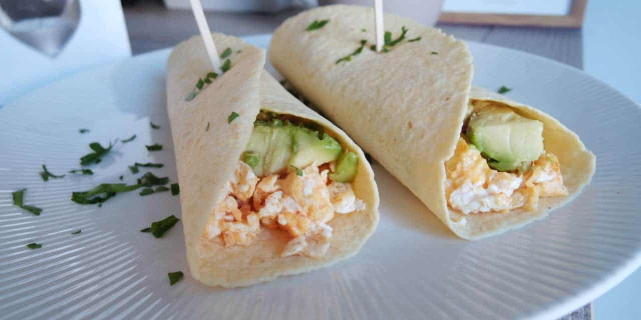 Breakfast burrito's, een energierijk ontbijtje!