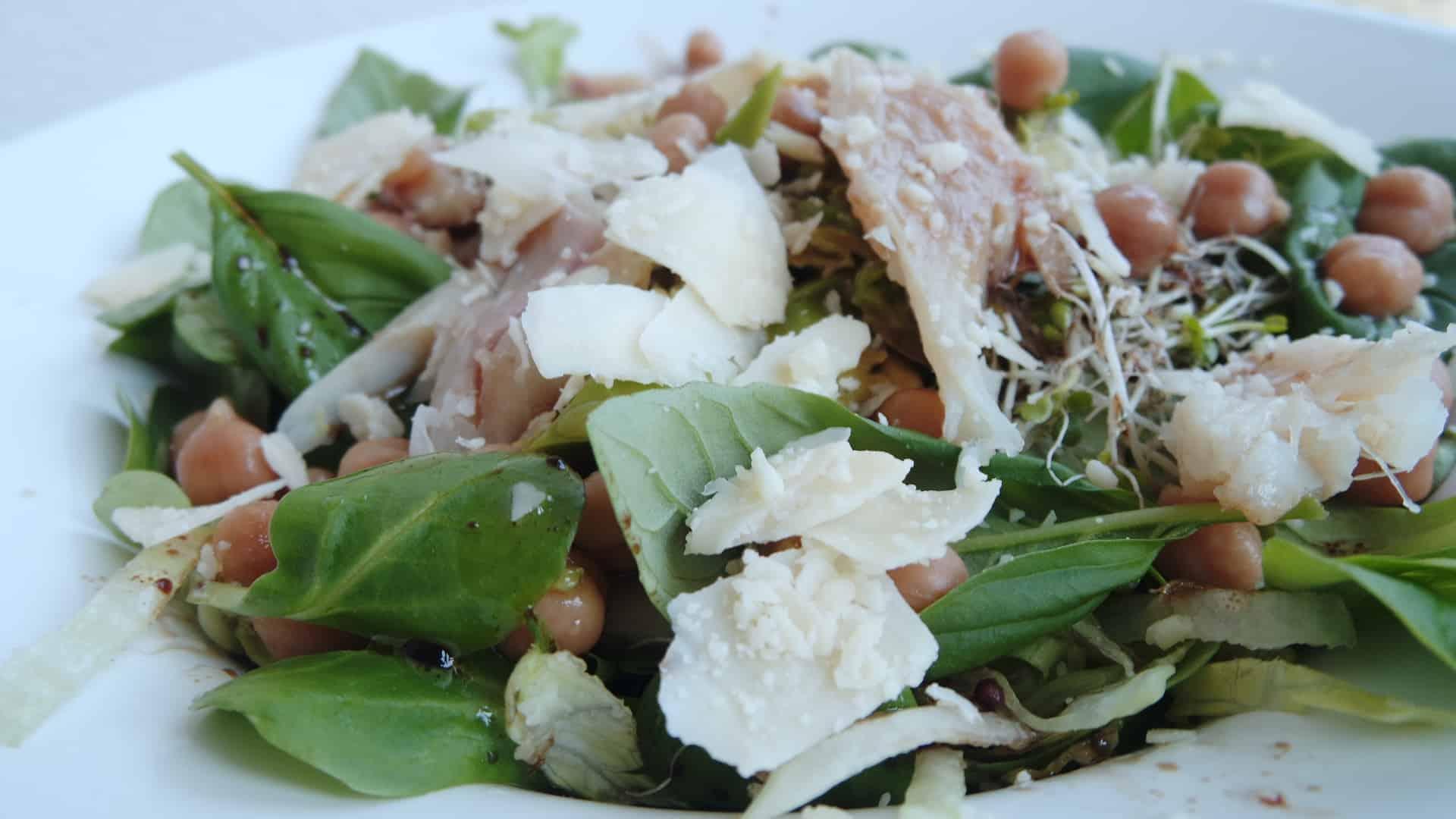 simpele vis salade