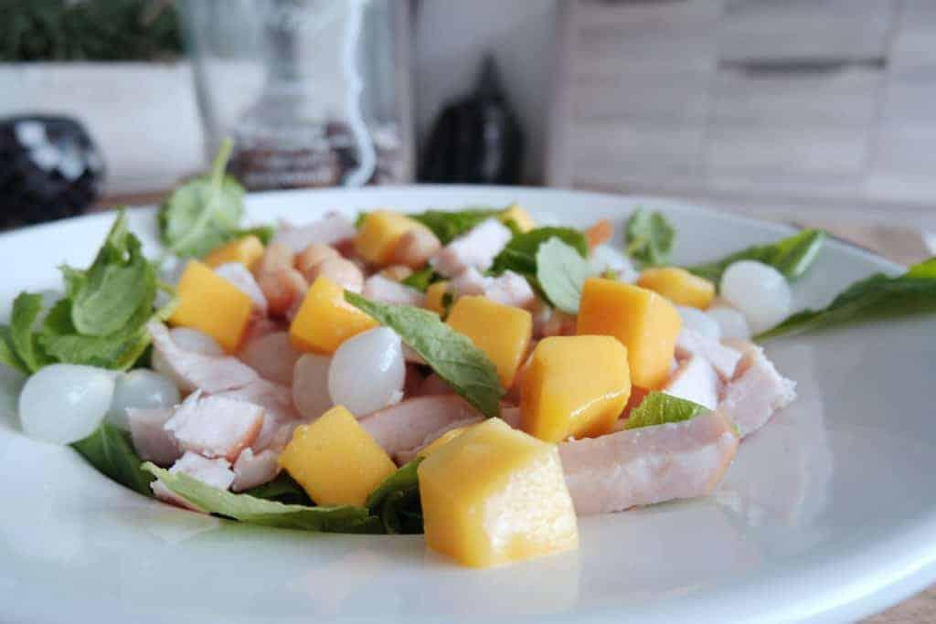 simpele kip salade