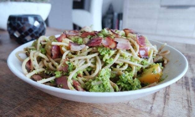 Spaghetti met bacon
