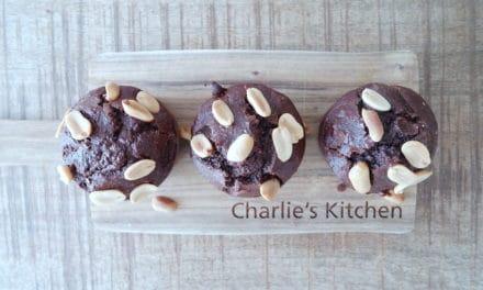 Muffins die naar Snickers smaken
