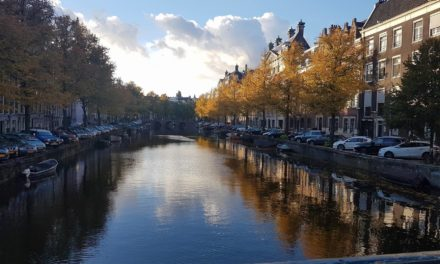 Ik pakte mijn spullen en vertrok naar Amsterdam