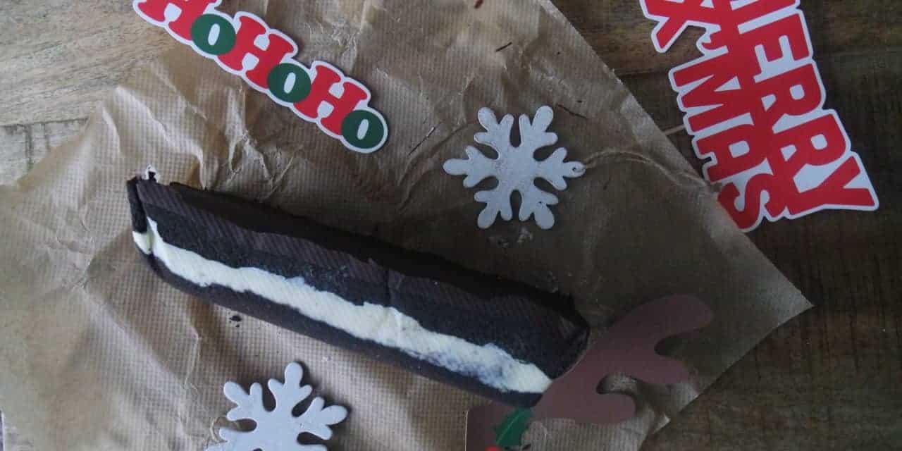 Kerst – giant Oreo ijstaart en niet alleen voor de Kerst!