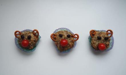 Hartige Rudolph muffins als traktatie