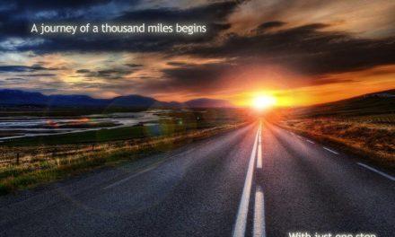 Je weet nooit of je de juiste richting kiest…