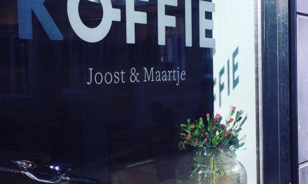 Koffie bij Joost en Maartje in Maastricht, een feestje!