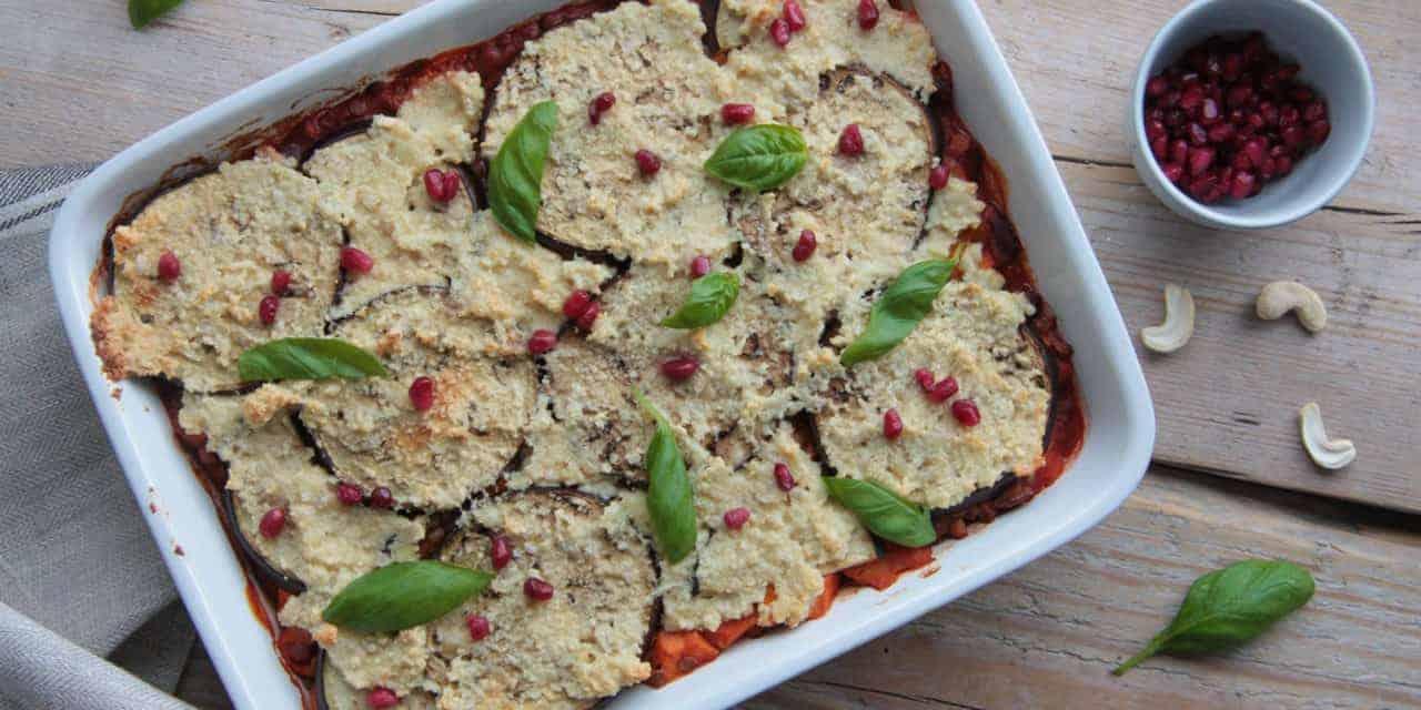 Vegetarische Turkse moussaka