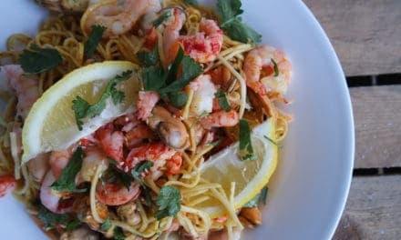 Jamie Oliver's Seafood noodles
