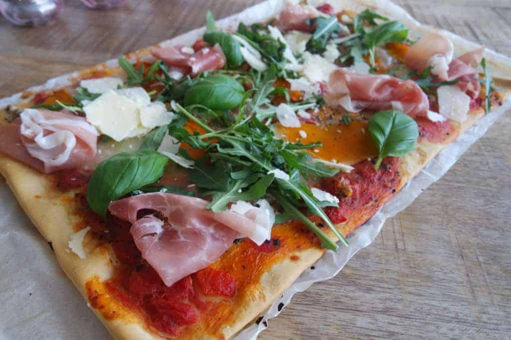 snelle speltpizza