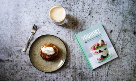 """Het nieuwe boek """"Yoghurt"""" met een badass milkshake recept"""
