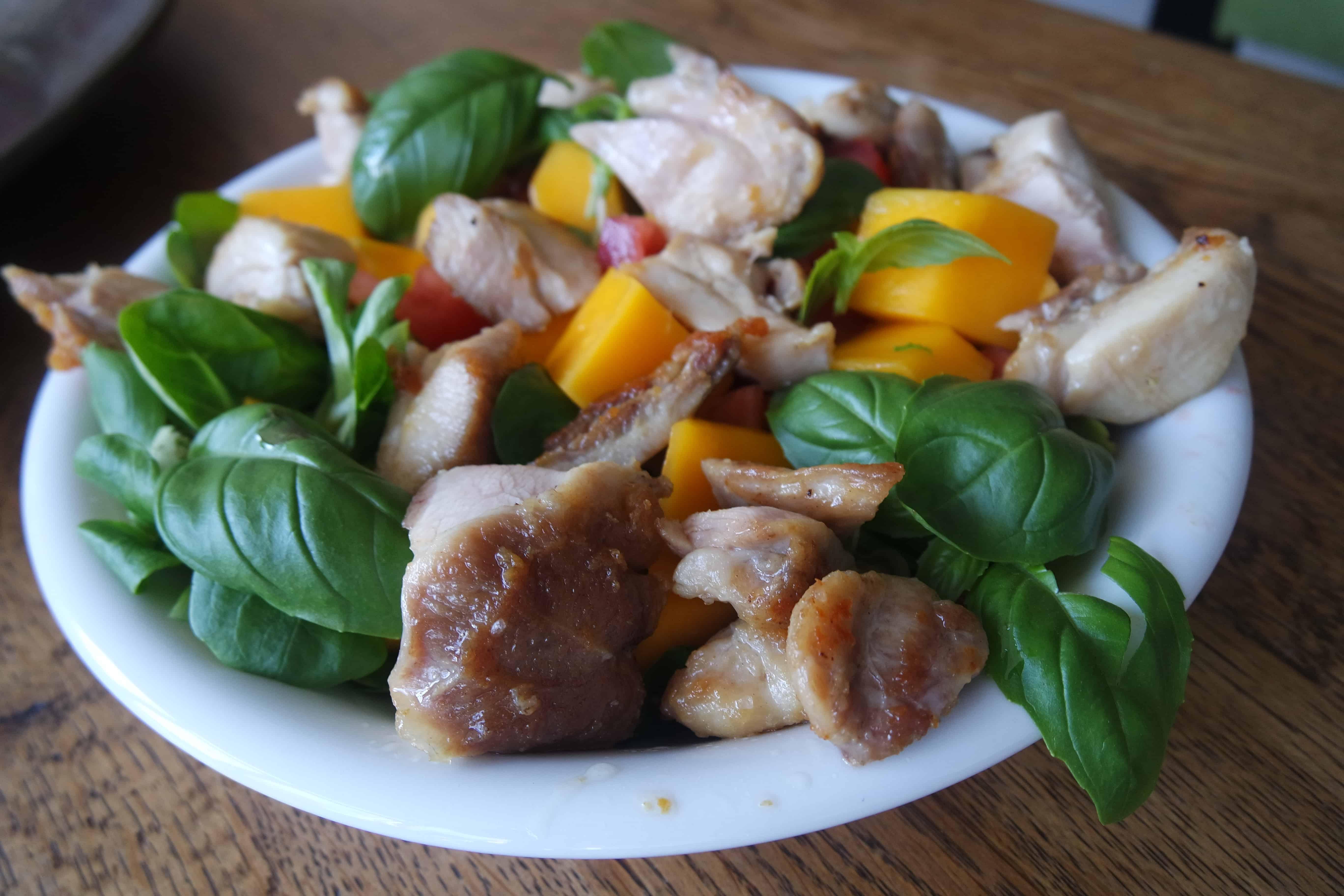 salade kippendij