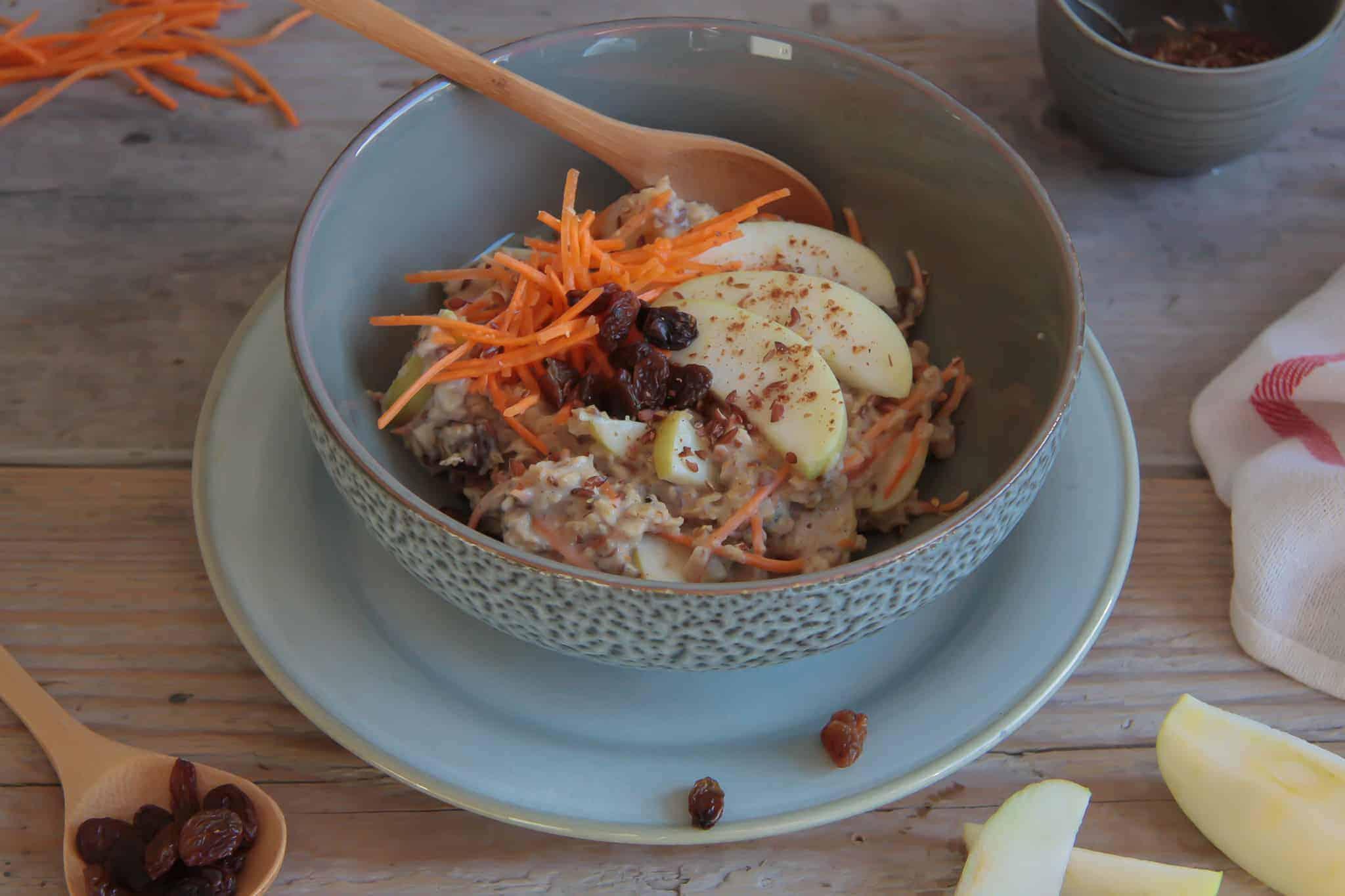 carrotcake, wortel, ontbijt