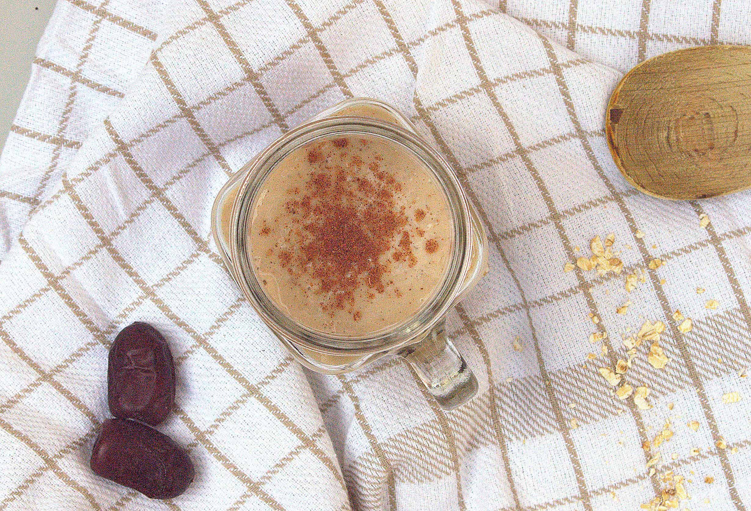 Salted caramel smoothie