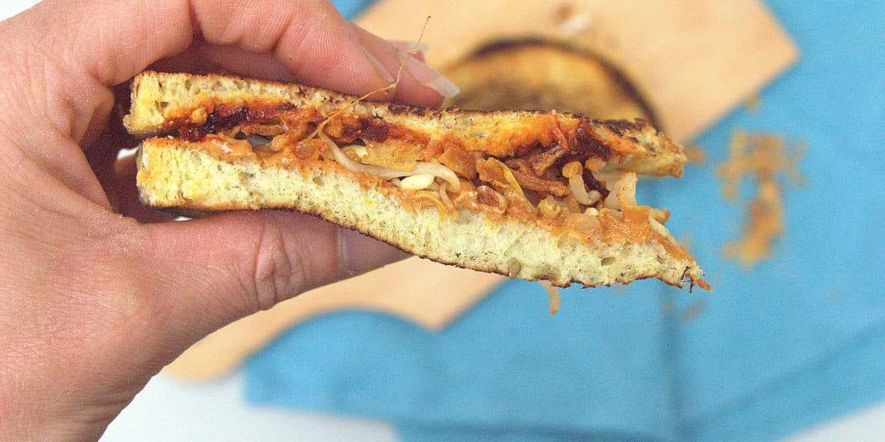 Een zeer bijzondere tosti om heet van te worden!
