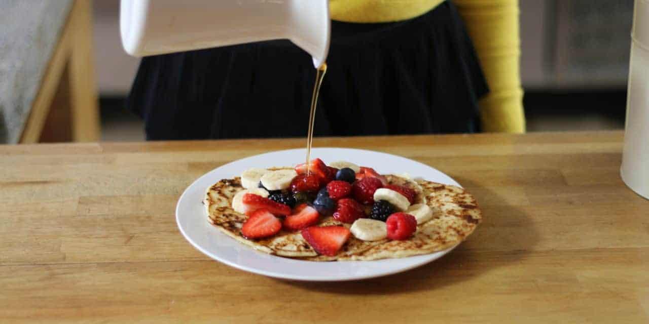 Ontbijtpannenkoekjes, mager en eiwitrijk!