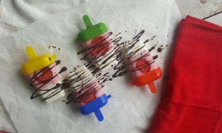 Voor de kids: gezonde aardbeien ijsjes