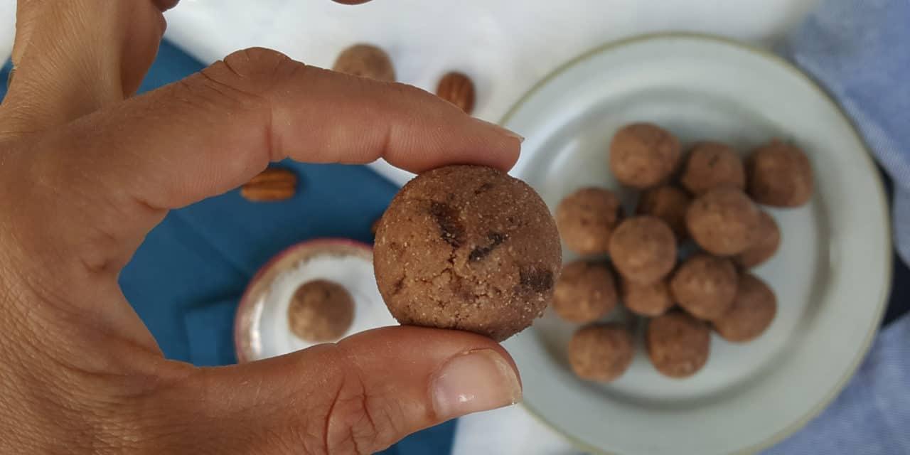 Cookie Dough balletjes met kokostwist
