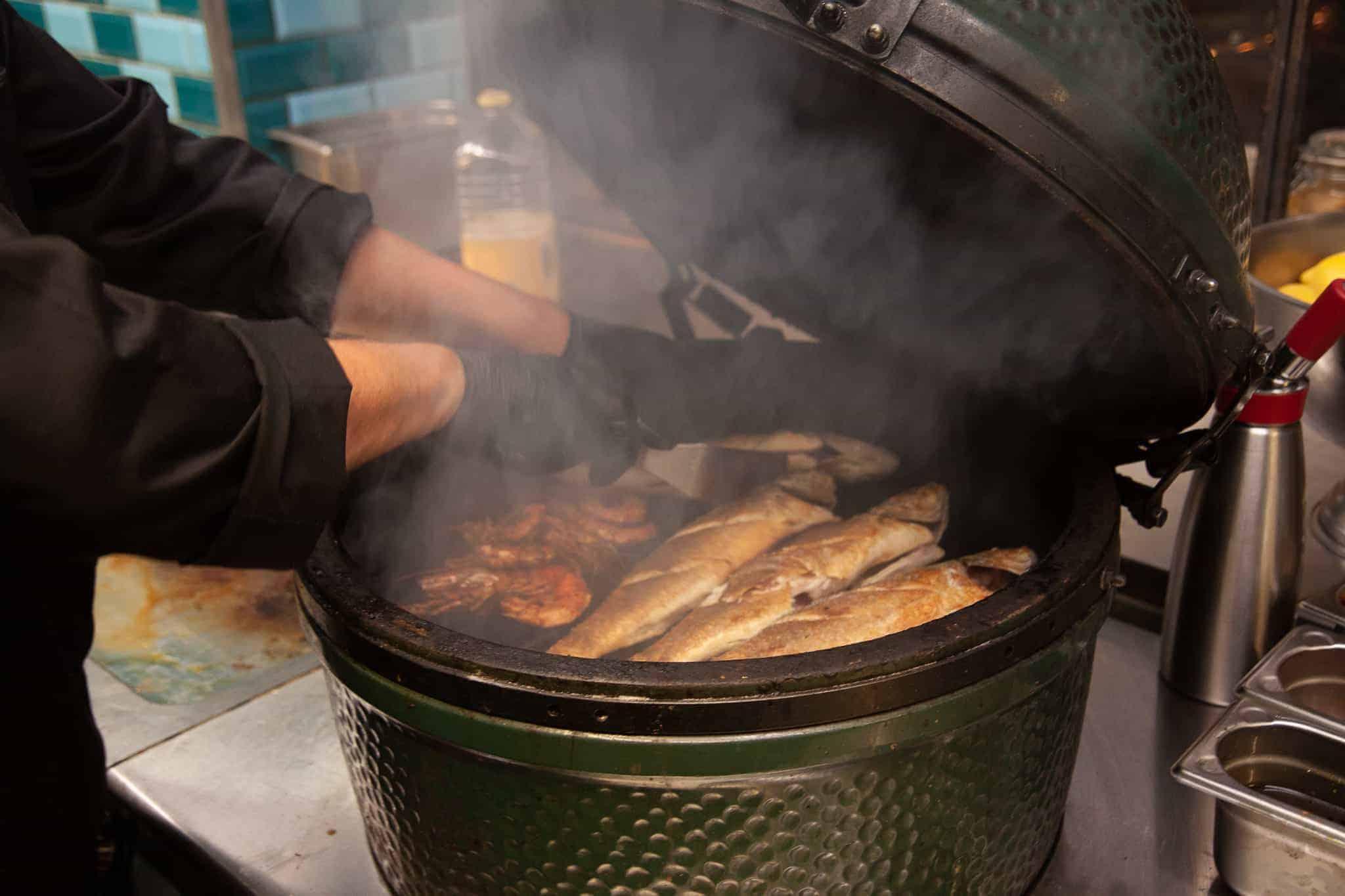 Pesca Amsterdam, vis eten, beleving