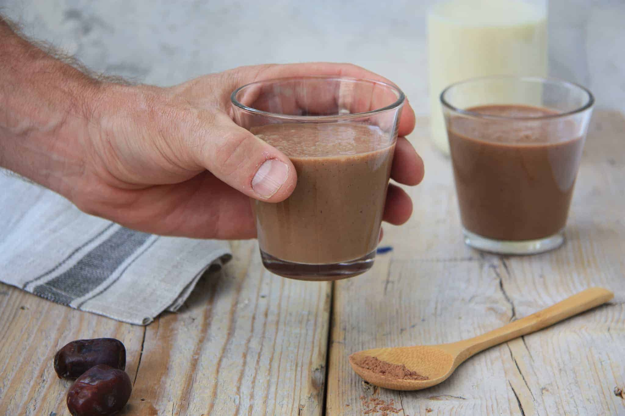 coffee smoothie, koffie, cacao