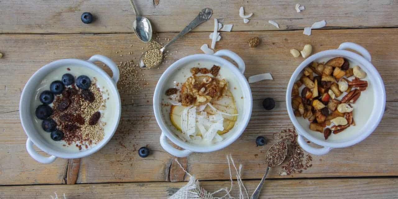Drie yoghurt ontbijtjes voor een goede start!