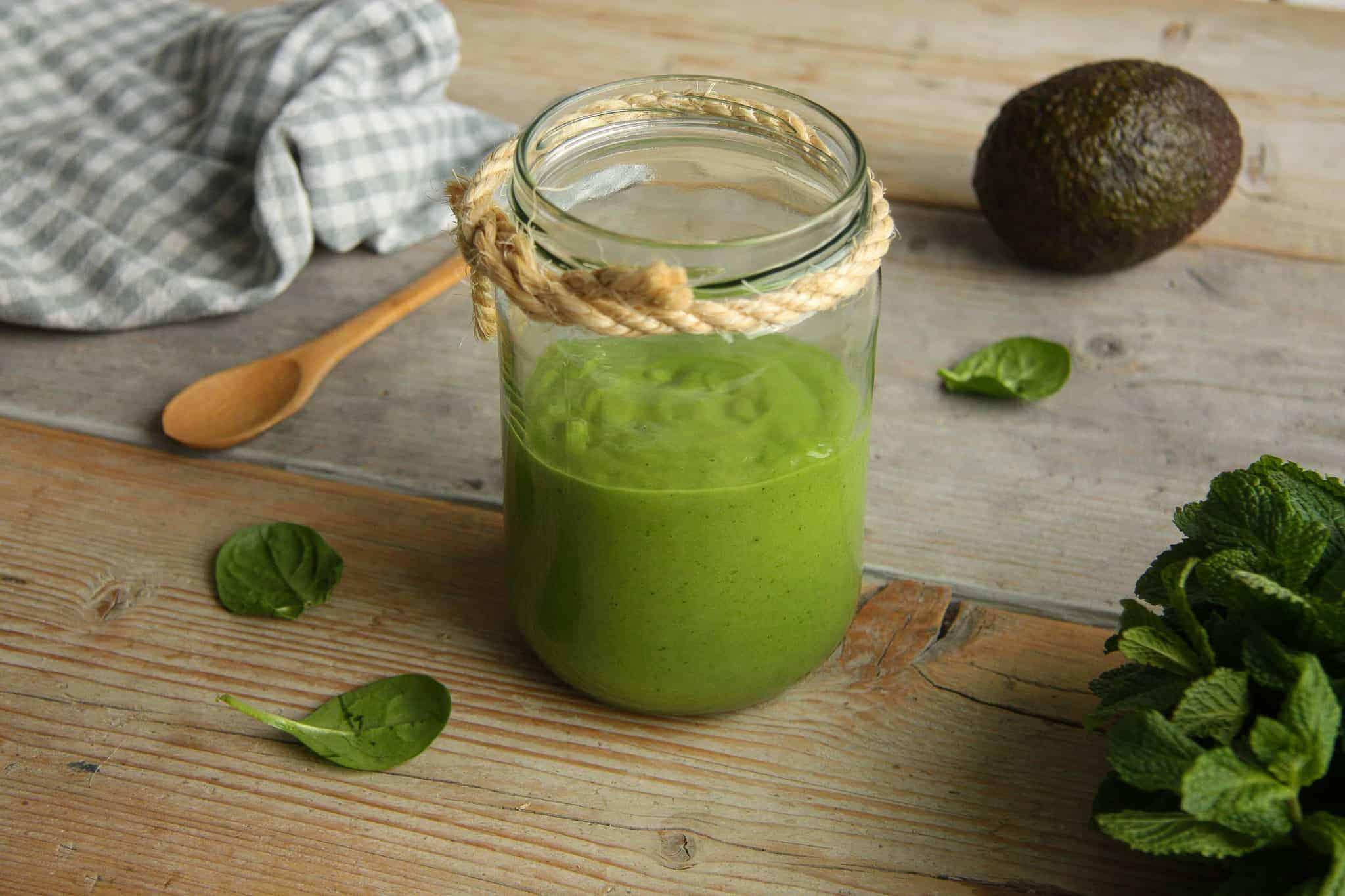 avocado smoothie, groenten