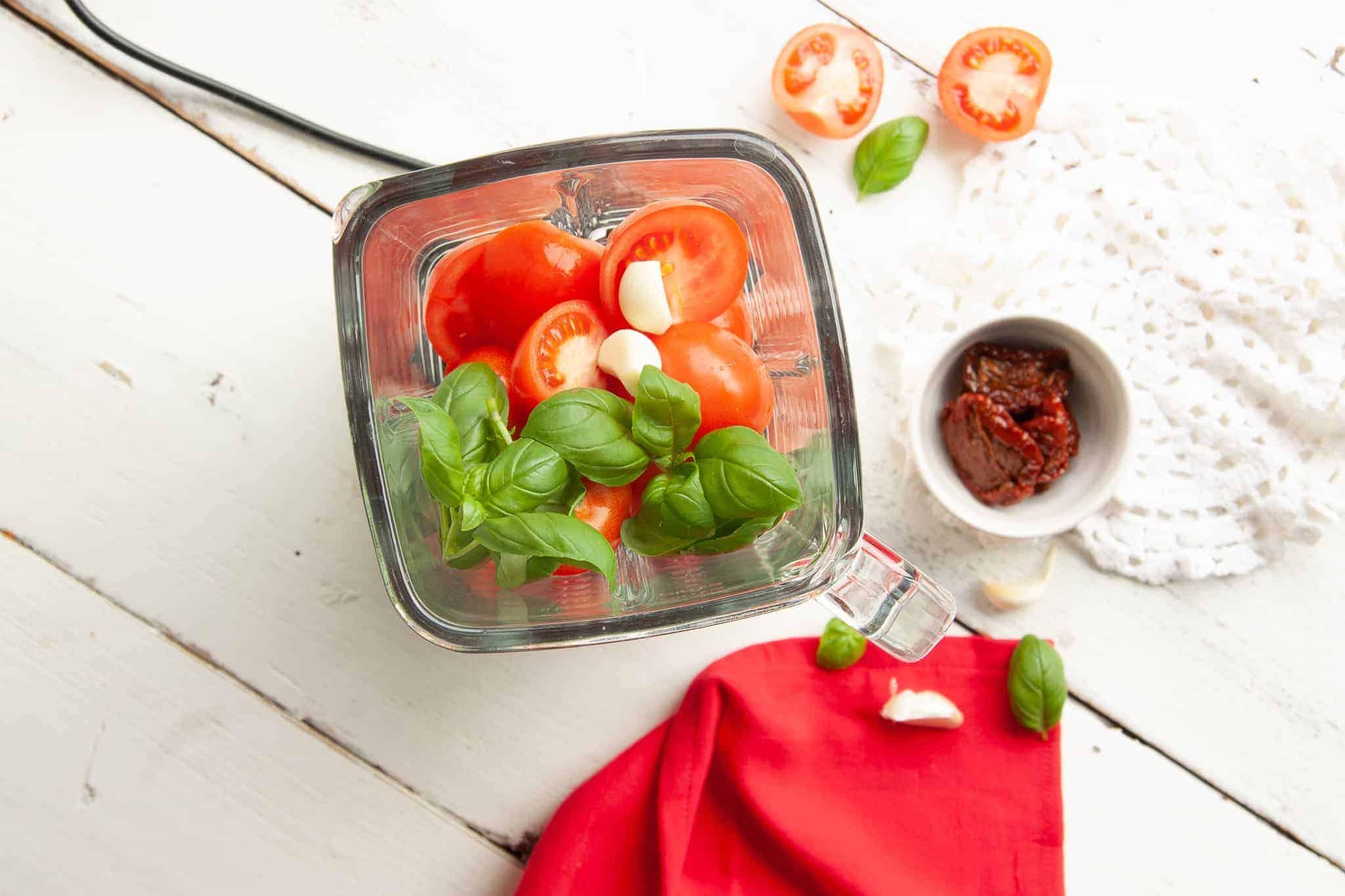 pastasaus, tomaten