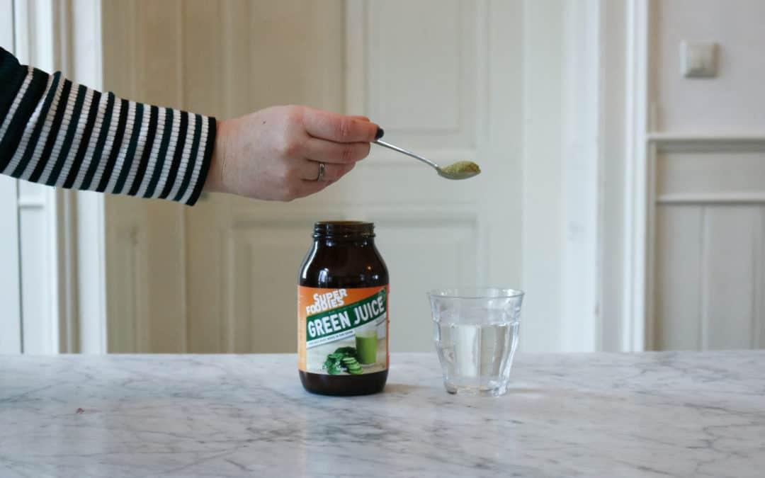 Elke dag Superfoodies Green Juice!