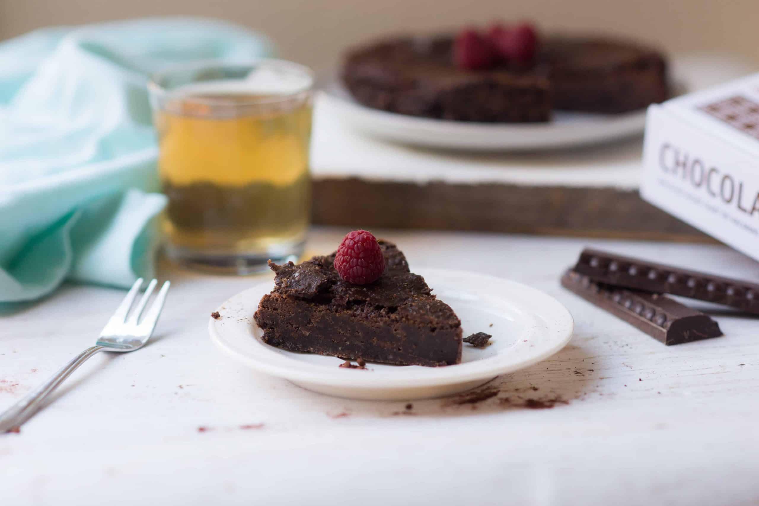 Chocolade boterkoek uit Chocoladebijbel