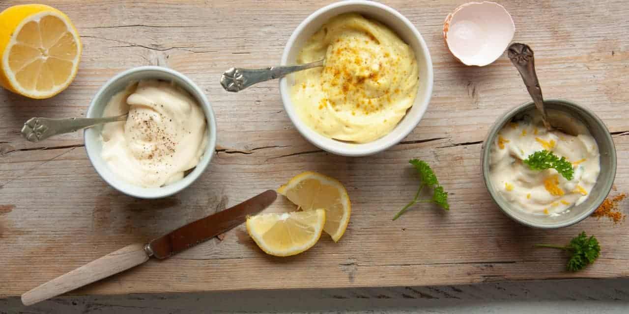 3x zelfgemaakte mayonaise met een twist