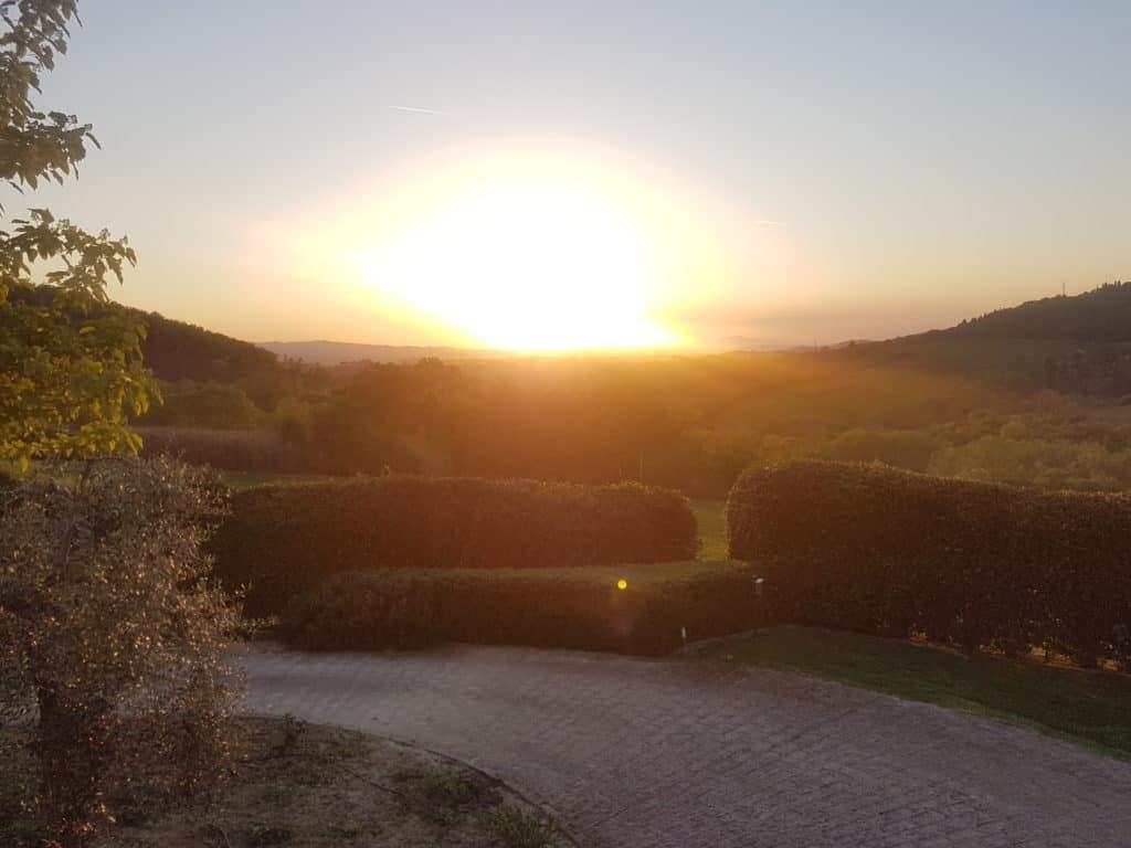 Nog meer prachtig uitzicht in Toscane