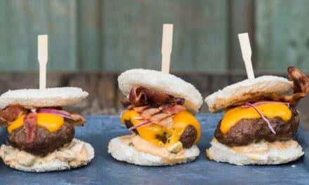Het recept voor mini-hamburgers van de BBQ!