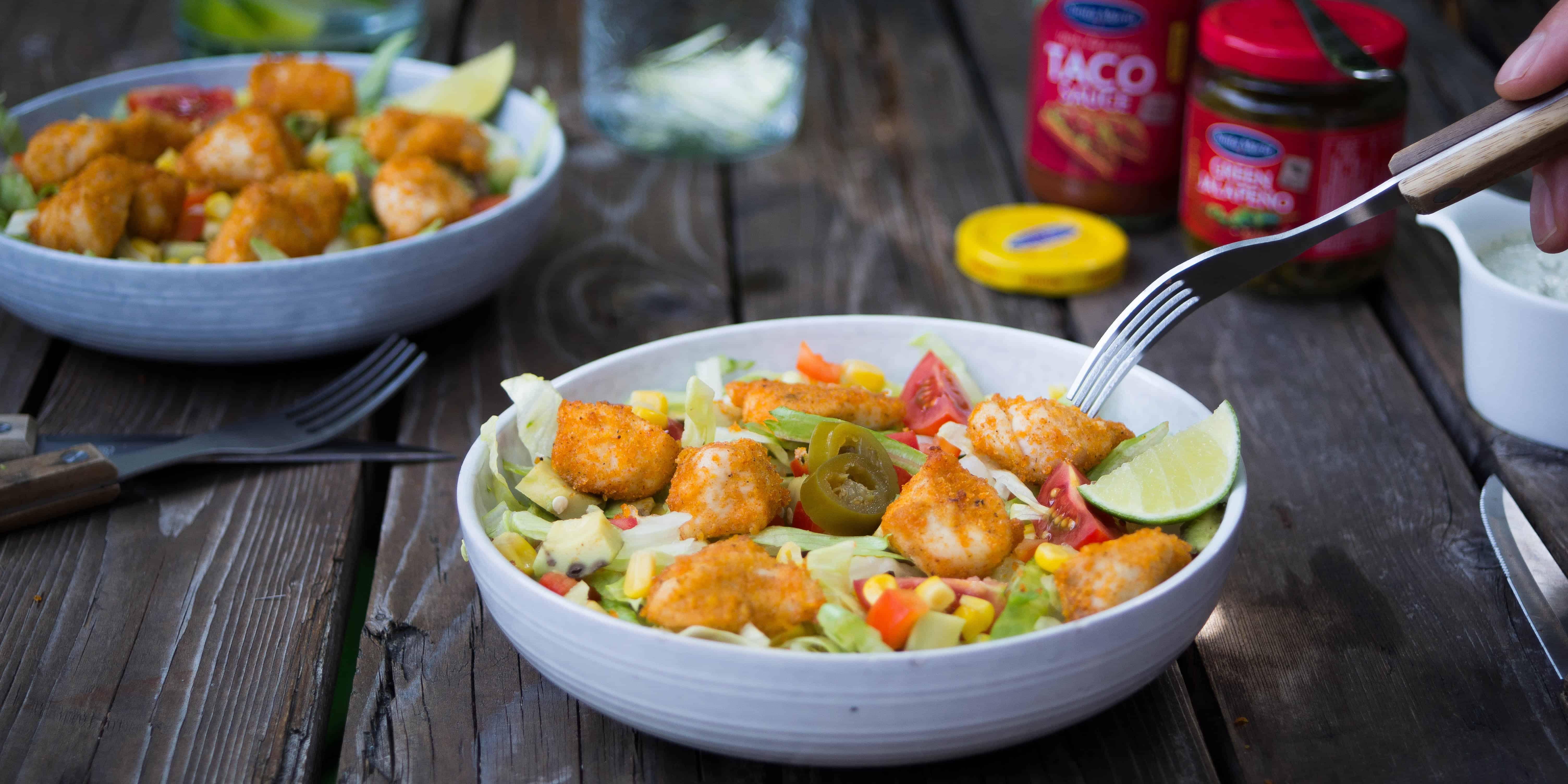 Ongekend Zomerse salade met krokante kip - Charlie's Kitchen ZB-52