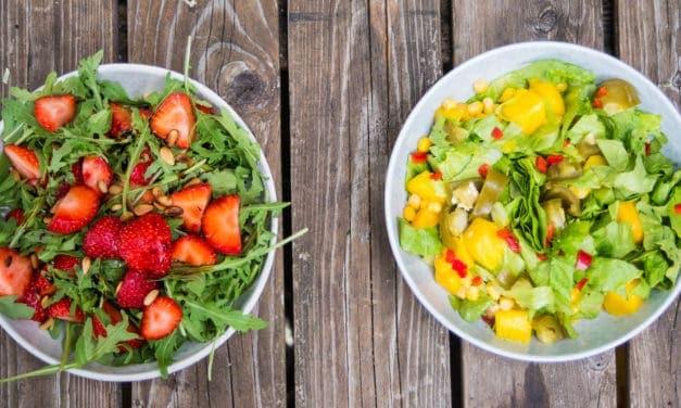2 gezonde salades voor bij de BBQ!