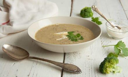 Broccolisoep, binnen 30 minuten op tafel!