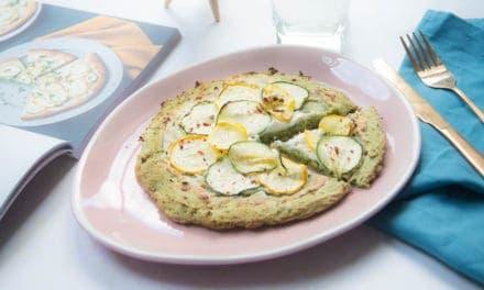 Vegetarische Magioni bloemkoolpizza