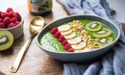 """Green up your morning"" smoothiebowl!"