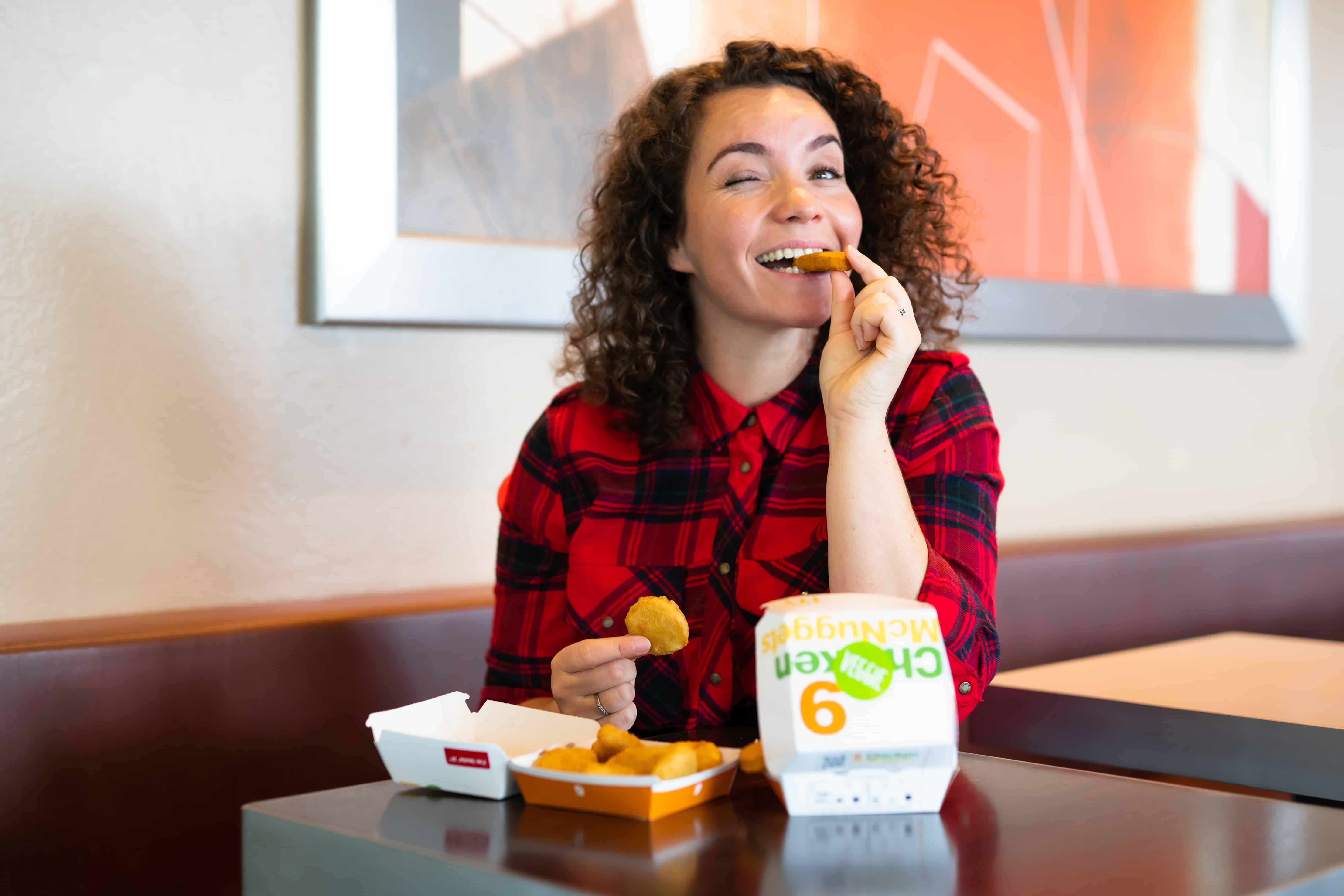 veggie nuggets, McDonald's, vegetarische, vegetarisch