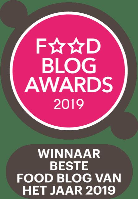 Winnaar Foodblog Foodblog van het jaar 2019