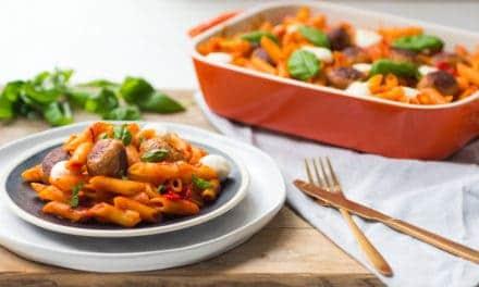 Grand'Italia Sugocasa Tradizionale pastaschotel met kipballetjes